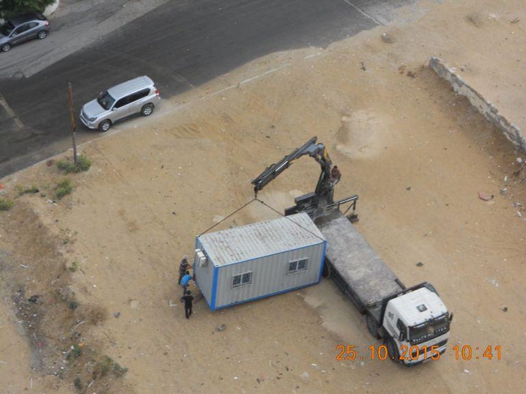 بدء تنفيذ مشروع اعادة انشاء برج الظافر 4 الذي دمرته الطائرات الصهيونيه