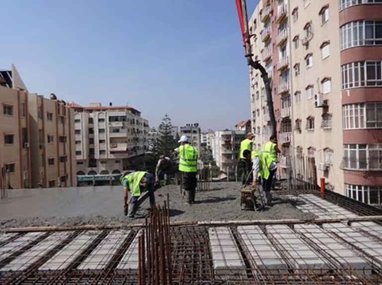 مبروك صب الدور الثاني ارضية الطابق الثالث ببرج الظافر 4