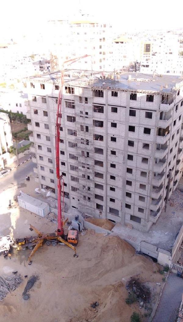 نداء من سكان برج الظافر 4 المدمر الى جمعية قطر الخيرية بالاستعجال بإتمام برجهم بأسرع وقت