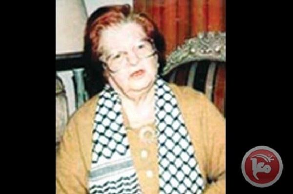 عام على رحيل الأخت المناضله رئيسة الاتحاد العام للمرآه الفلسطينية الأخت سميرة أبو غزاله