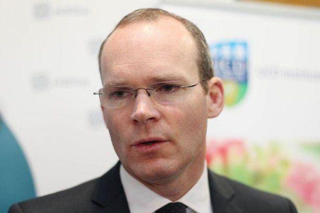 عيب وزير الخارجية الايرلندي يزور قطاع غزه بدون مرافقه من وزارة الخارجية الفلسطينية