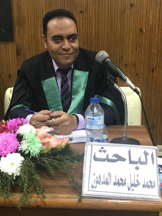مبروك الماجستير للصحافي المتميز الأخ محمد خليل المدهون وعقبال الدكتوراه